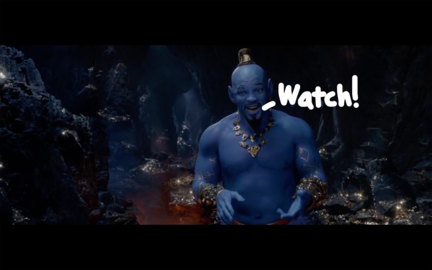 "VIDEO: Enter A Whole New World In This New Trailer For ""Aladdin"""