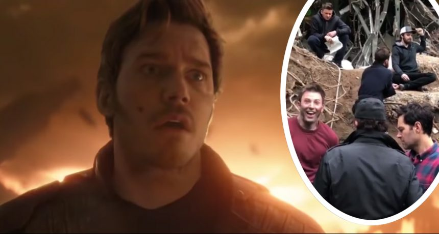 Chris Pratt dan video viral yang dibagikan.