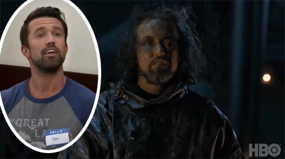 Game Of Thrones Celebrity Cameos Rob McElhenney