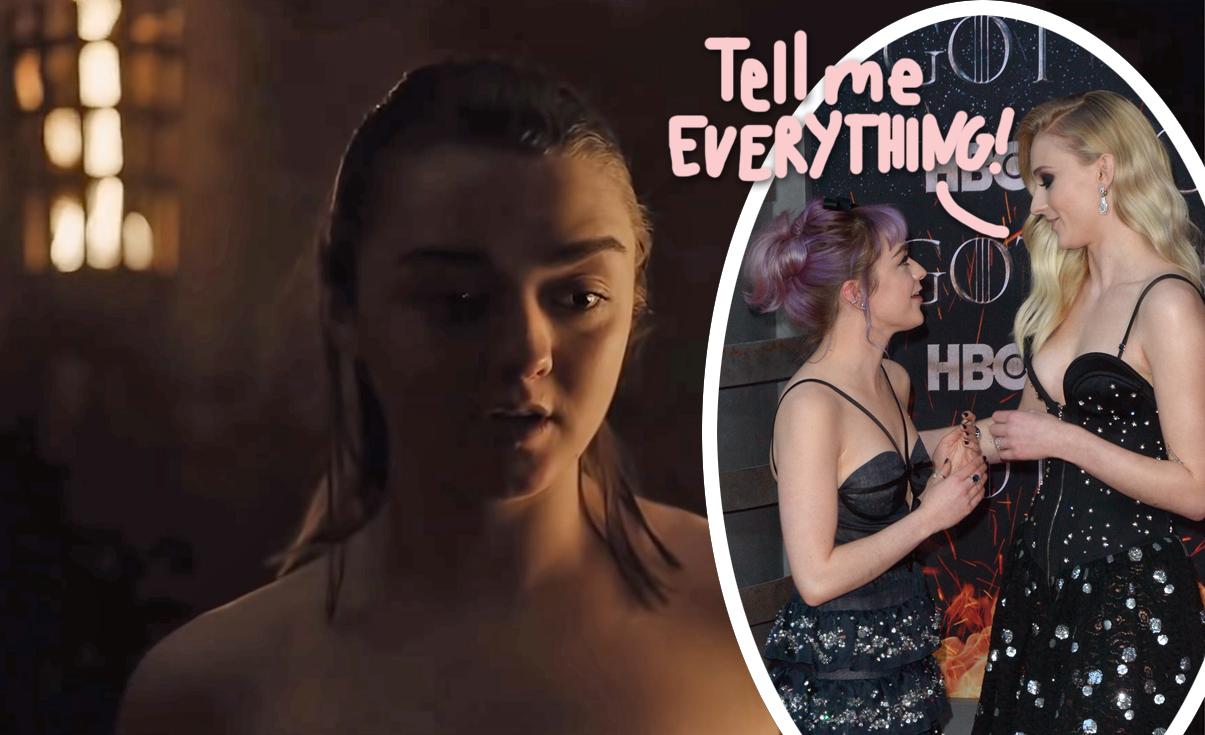 Stark nude arya Arya Stark