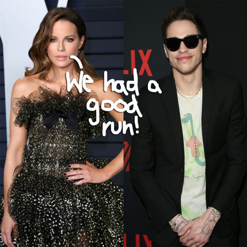 Wait, Did Kate Beckinsale and Pete Davidson Break Up?