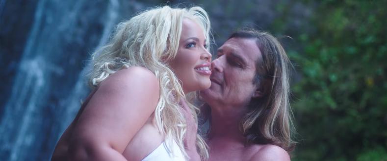Trisha Paytas new music video featuring Fabio