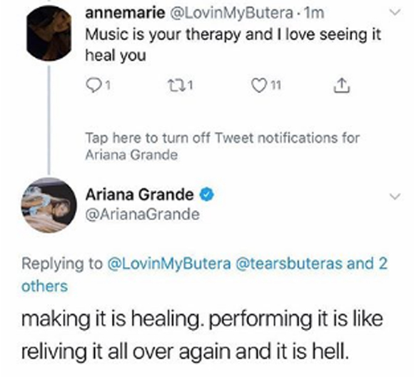 Ariana Grande Tells Fans 'My Soul is Confused & Tired'