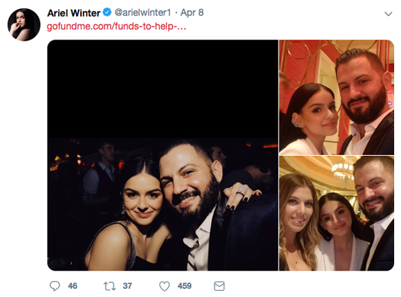 Ariel Winter claps back!