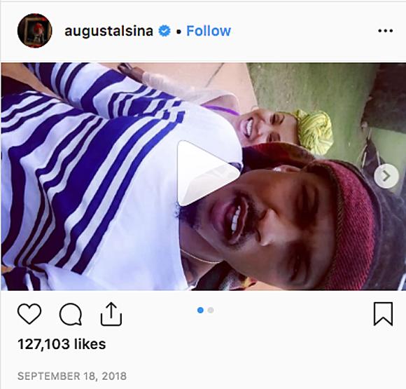 August Alsina teases Jada Pinkett smith affair