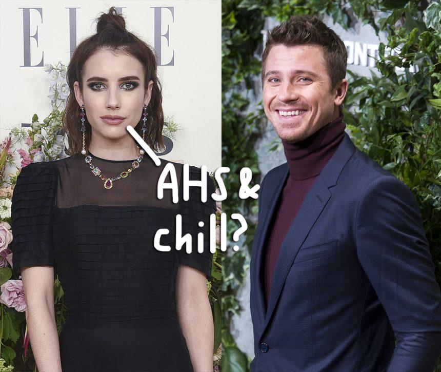 Emma Roberts & Garrett Hedlund 'Having Fun' & 'Hooking Up' Following Her Split From Evan Peters!