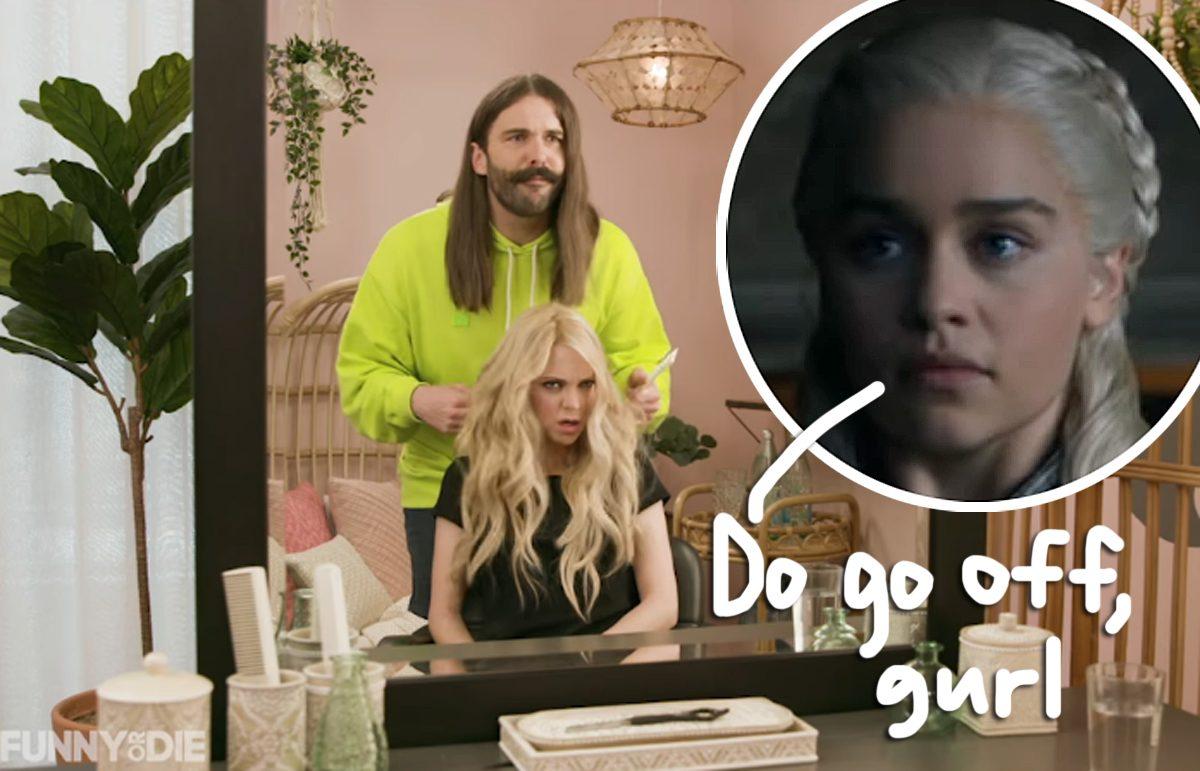 'Gay Of Thrones'! Jonathan Van Ness & Anna Faris Recap Latest 'GoT' Episode Using