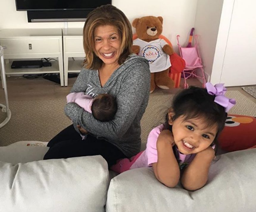 Hoda Kotb is a mom -- again