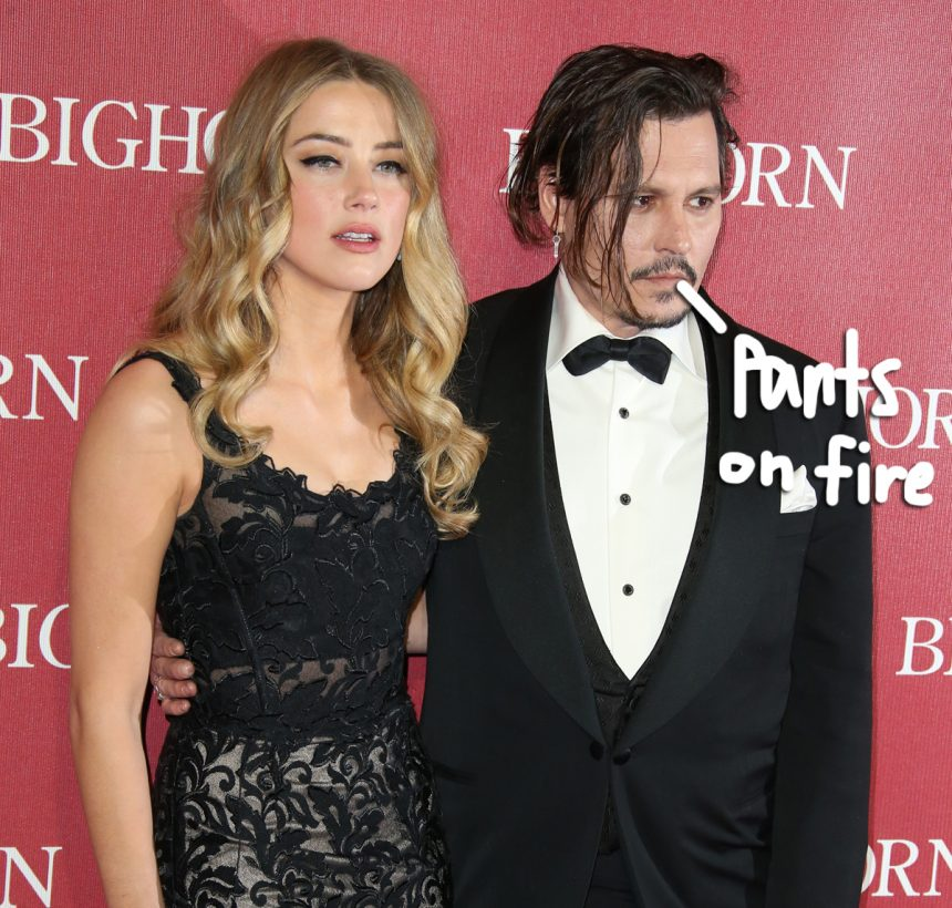 Johnny Depp slams Amber Heard's abuse claims as