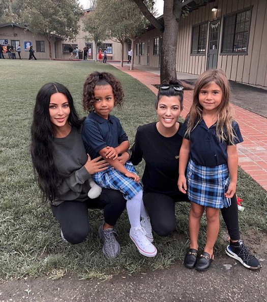 Kim and Kourtney Kardashian's kids are back in school!