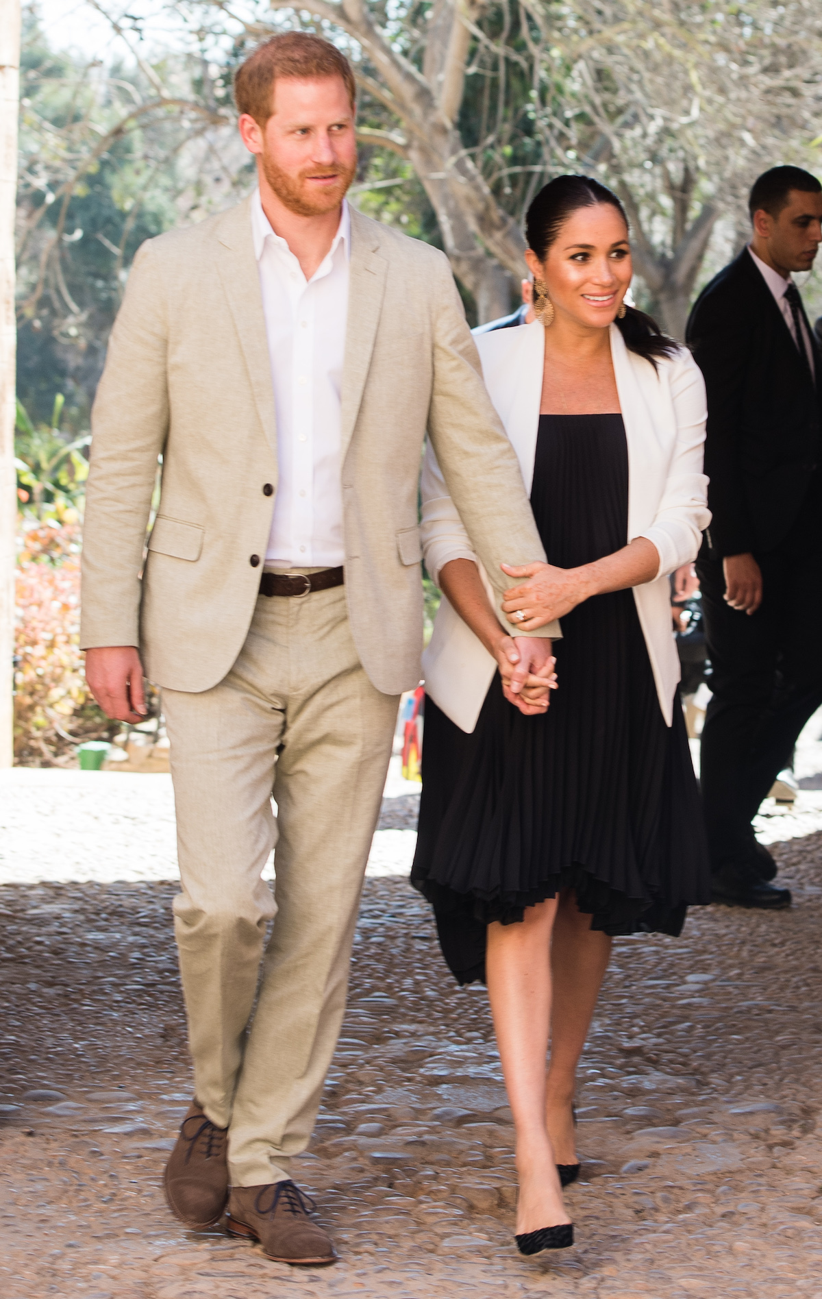meghan and harry in morroco