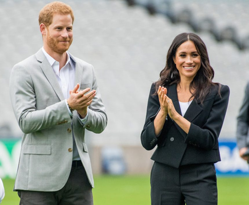 Prince Harry Meghan Markle Earth Day Photos