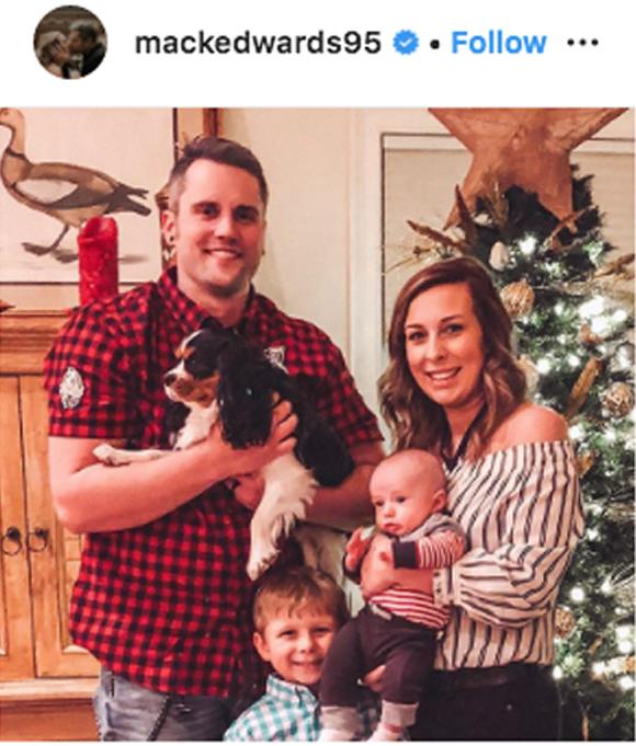 Ryan Mackenzie edwards christmas card