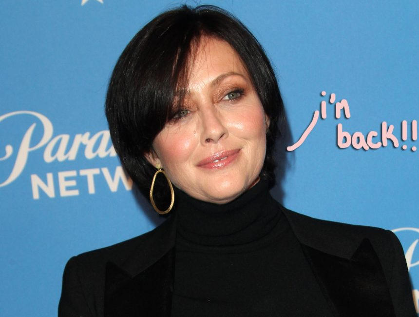 Shannen Doherty to return for 'BH90210'