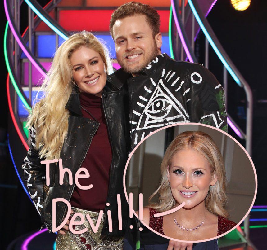 Stephanie Pratt Claps Back At Bro Spencer, Calling Wife Heidi Montag 'The Devil' — Uh-Oh!