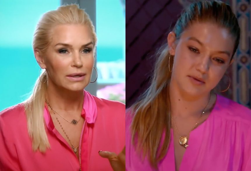 9cdd04daf6a4c0 Yolanda Hadid is under fire for comments she made to her daughter, Gigi  Hadid, in an unearthed clip from the Real Housewives of Beverly Hills.