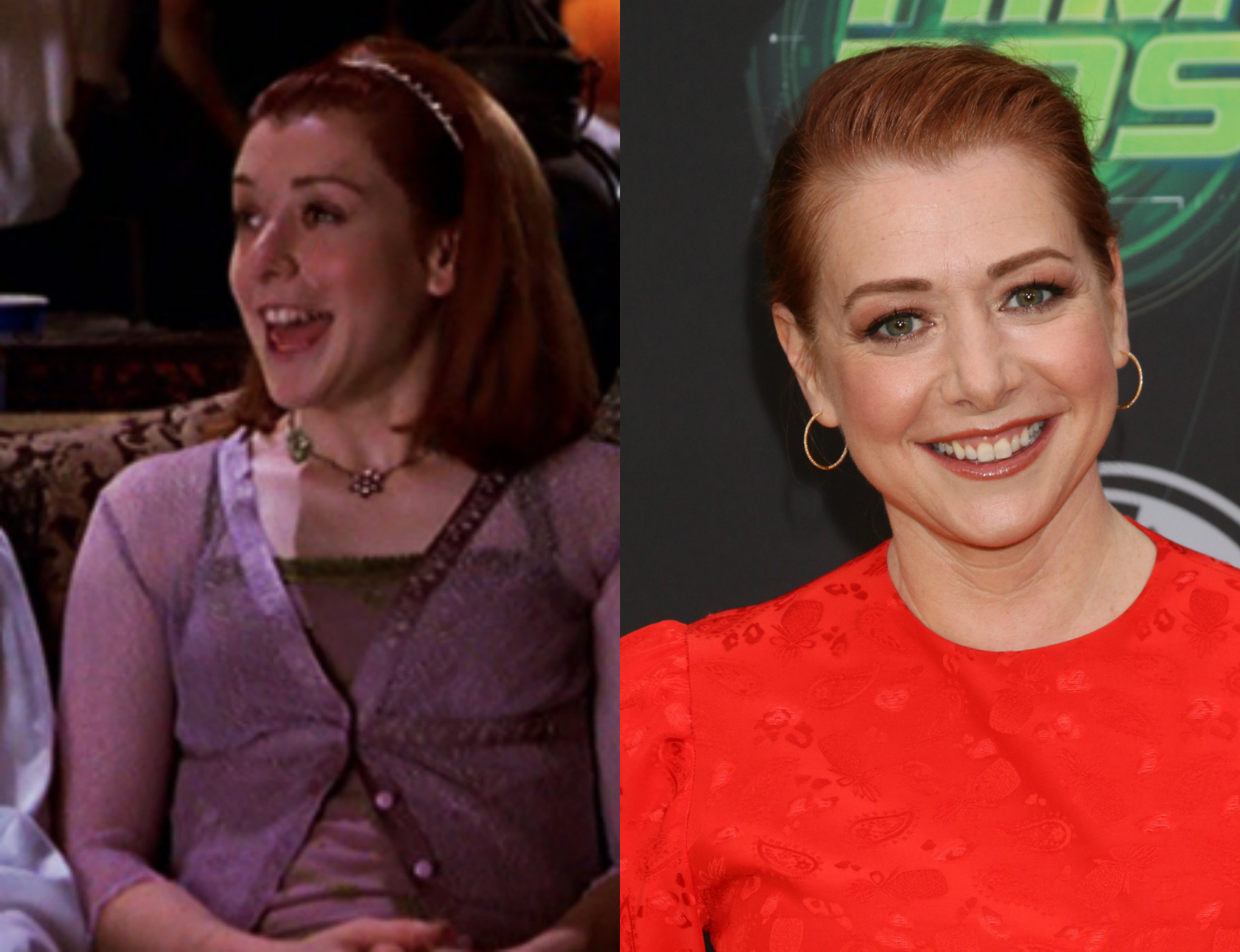 Alyson Hannigan American Pie Hot american pie' stars: then & now! - perez hilton