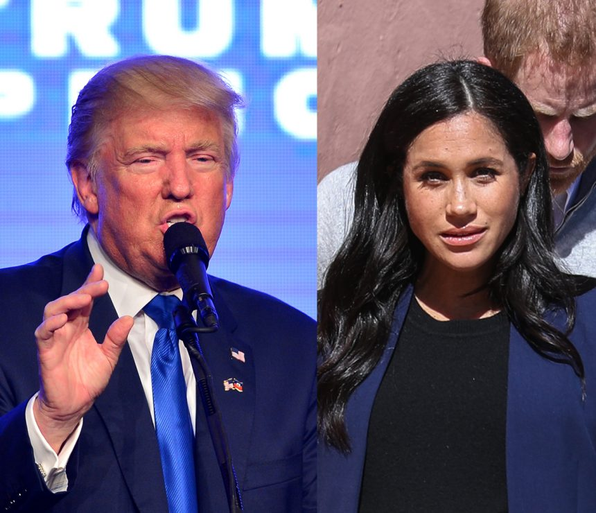 Trump Just Called Meghan Markle 'Nasty'!