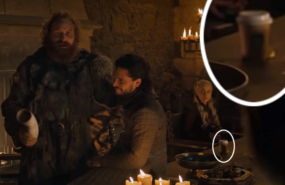 Game Of Thrones Mistake Coffee Cup Season 8 Episode 4