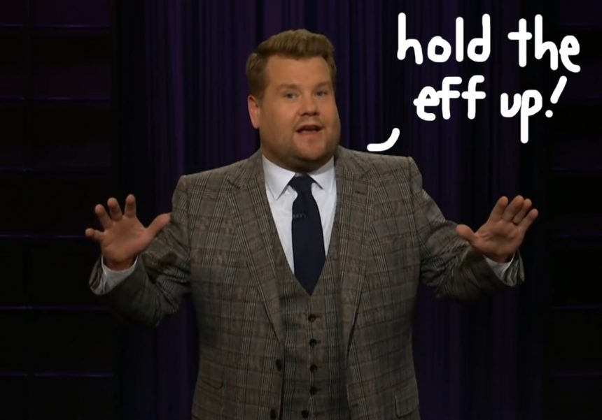 James Corden slams troll who 'hopes his kid gets cancer'