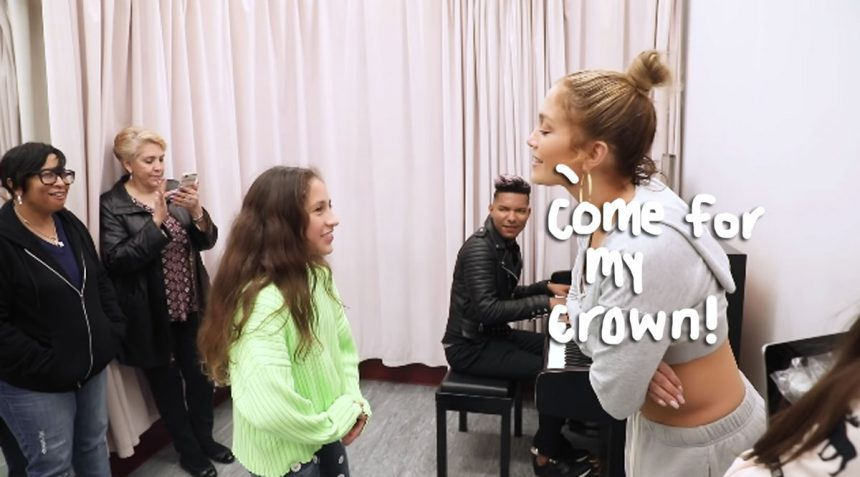 Jennifer Lopez and Marc Anthony's Daughter Emme Sure Can Sing-Watch Here!