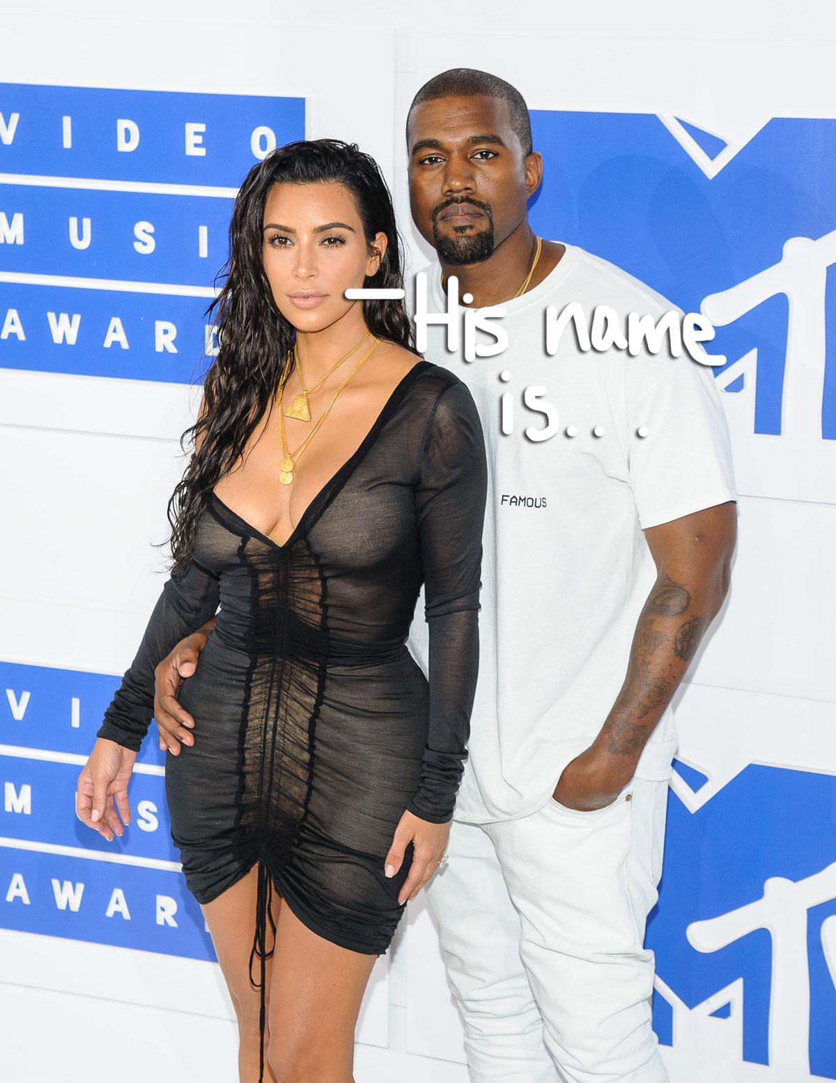 Kim Kardashian & Kanye West Announce Their Baby Boy's Name ...
