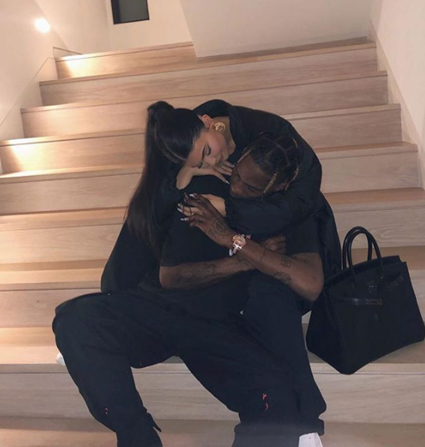 00e98802d828 Kylie Jenner & Travis Scott Get Tattoos To Celebrate The Rapper Turning 28  At His Insane Party!