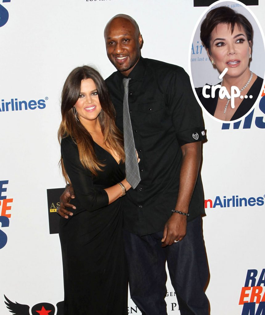 Lamar Odom EXPOSES 'Devious' Kris Jenner For Photo Scheme Involving Khloé Kardashian! - Perez Hilton