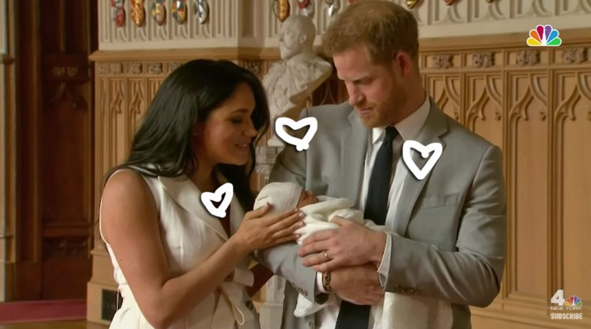 Prince Harry and Meghan Markle Introduce Newest Member of Royal Family