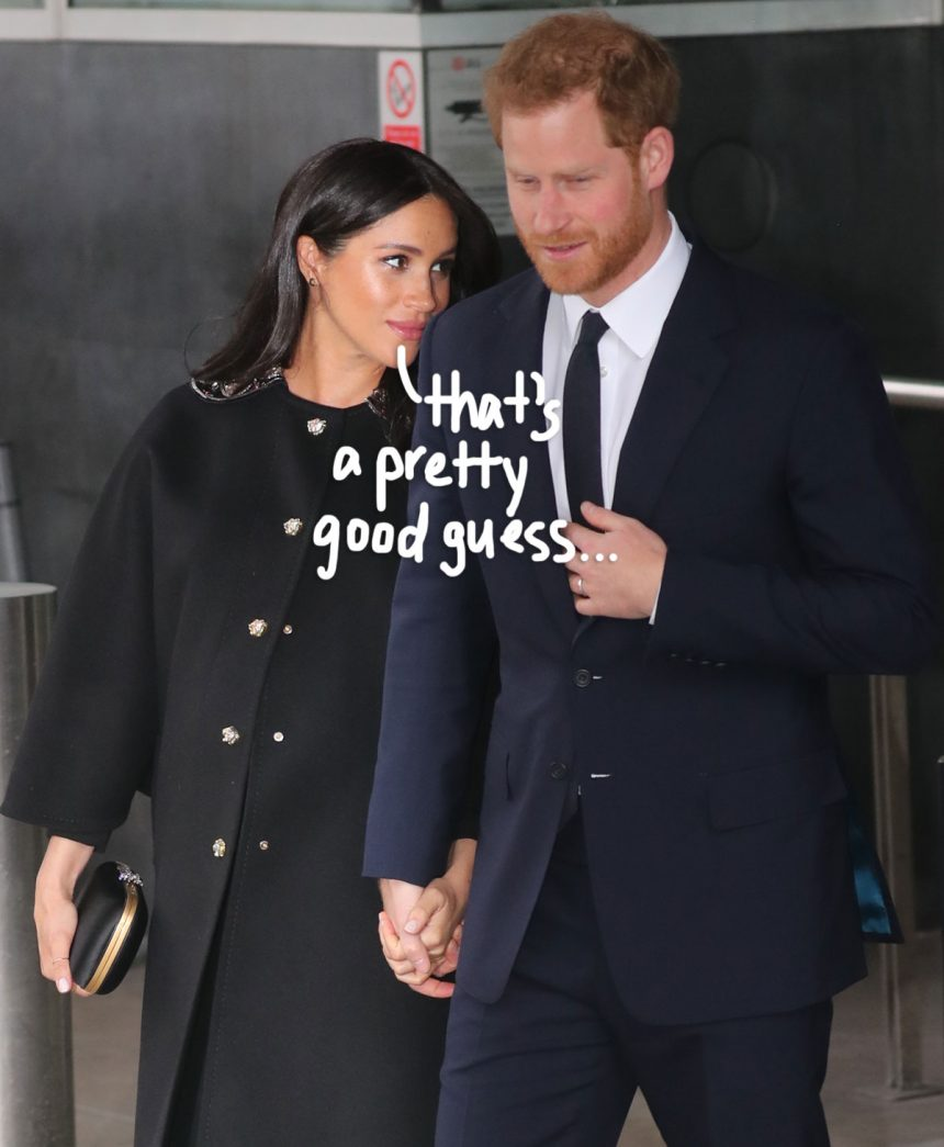 Sources Say Meghan Markle & Prince Harry Will Choose A