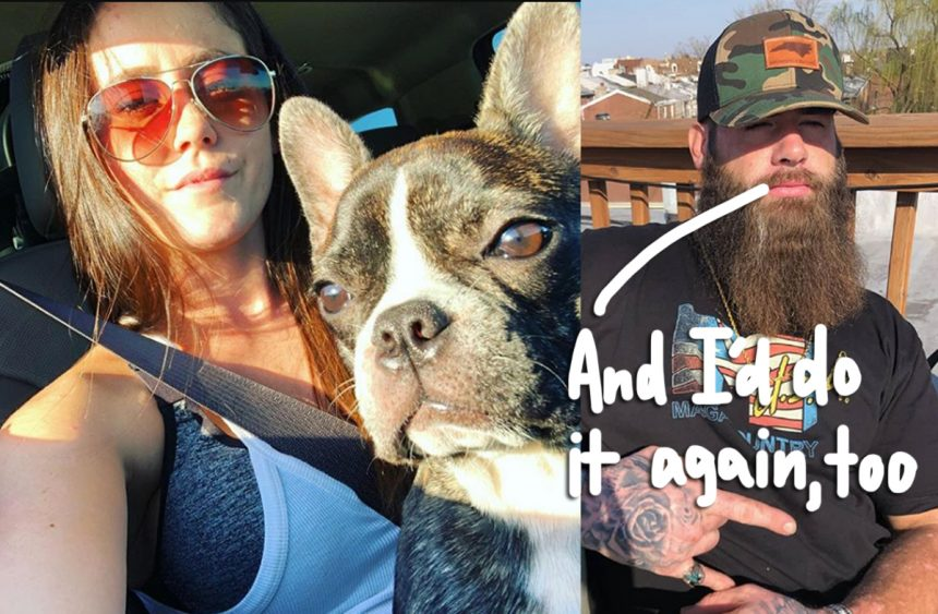 Jenelle Evans' Husband David Eason Breaks His Silence on Dog's Death