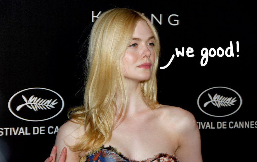 Elle Fanning faints at Cannes Film Festival dinner