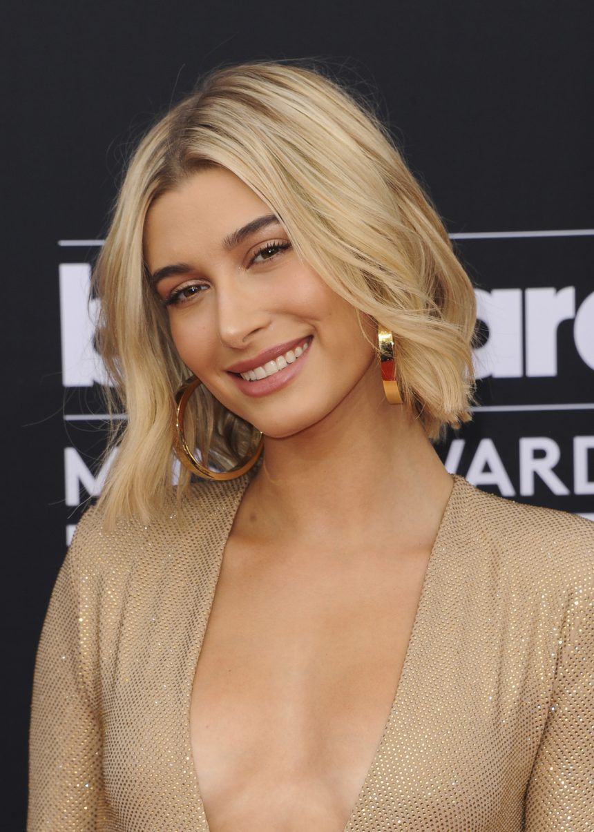 83595b354369 Met Gala 2019: Hailey Bieber Sizzles In A Crystal Thong - Perez Hilton