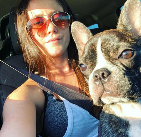 Jenelle Evans shares Instagram tribute to her late dog Nugget