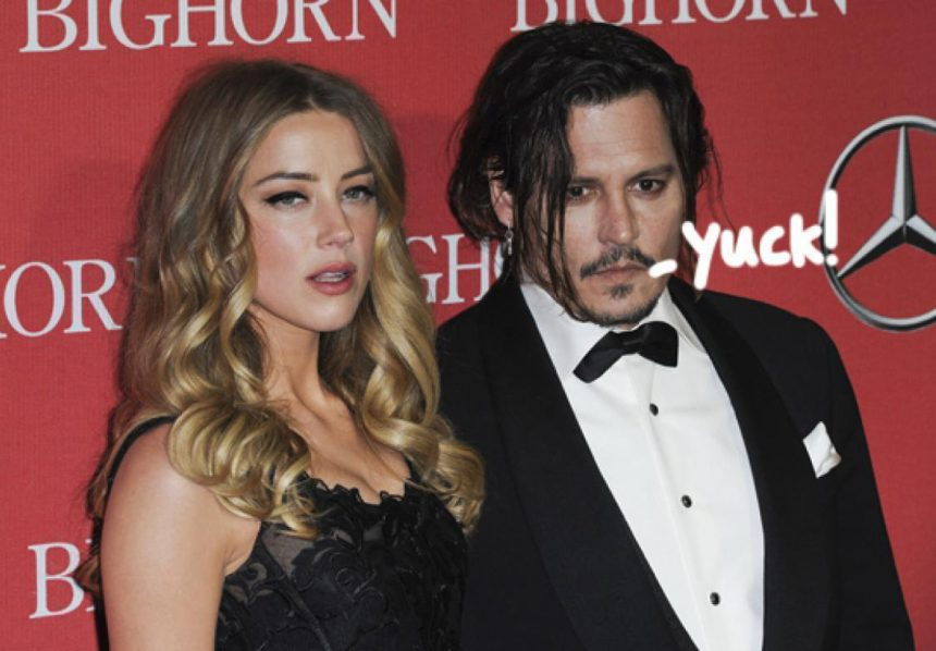 Johnny Depp Claims Amber Heard 'Painted On' Bruises In ...