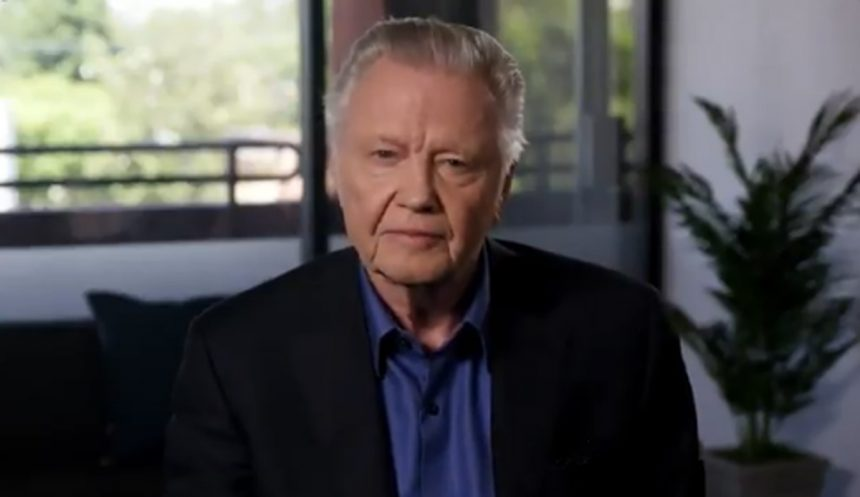 Jon Voight calls Donald Trump the 'greatest president' since Abraham Lincoln