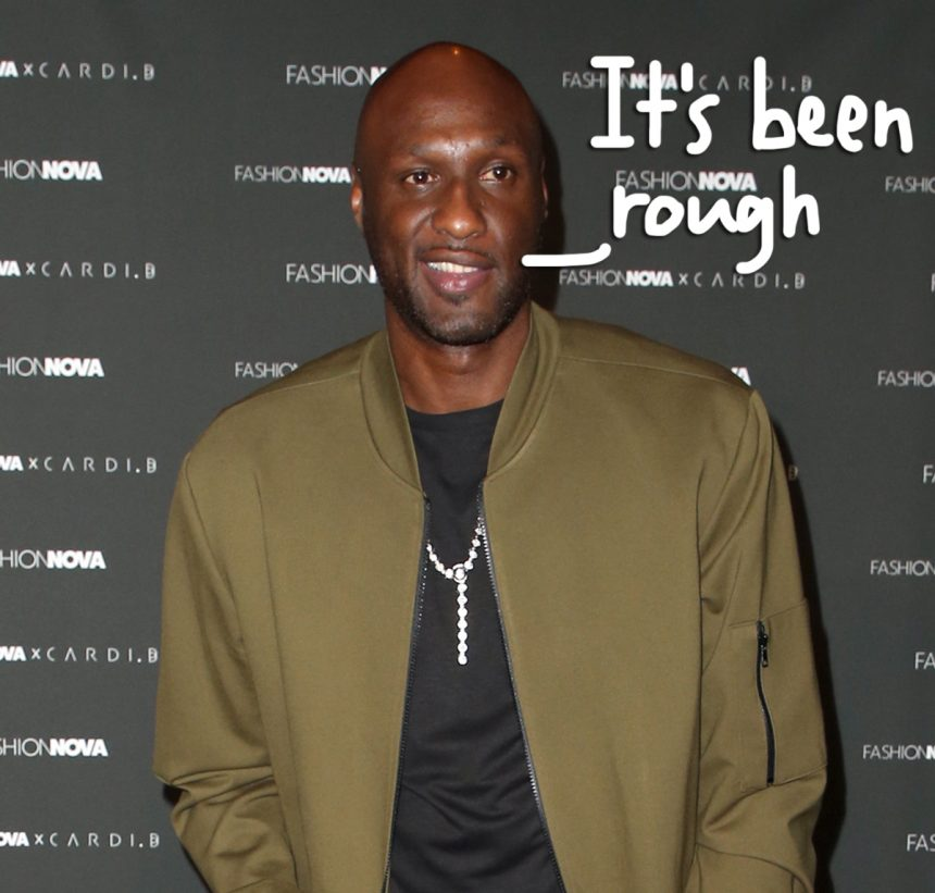 I Passed Drug Test Using Fake Penis, Lamar Odom Reveals