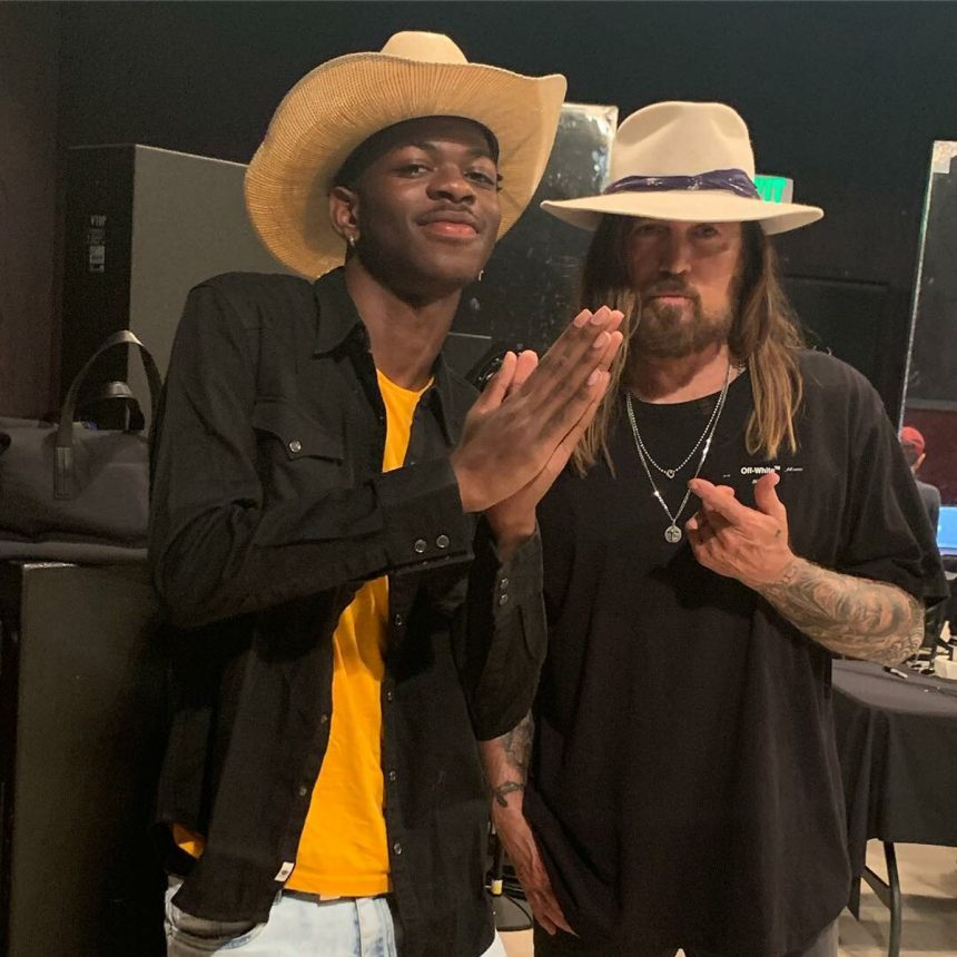 Lil Nas X Gives Billy Ray Cyrus a Maserati