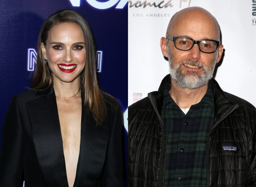 Natalie Portman denies dating Moby, calls him 'creepy'
