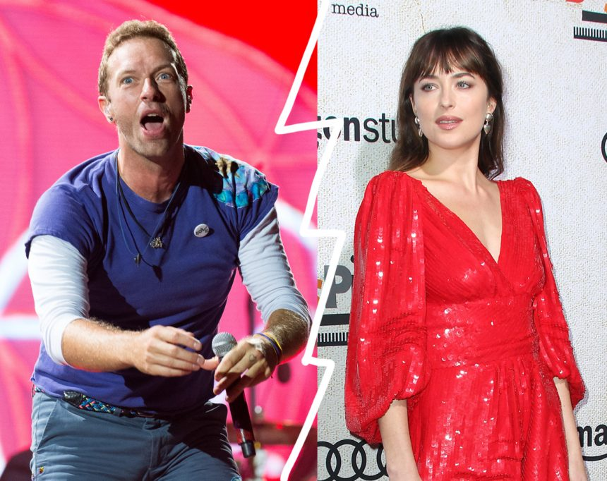 REPORT: Chris Martin & Dakota Johnson Split After Nearly 2
