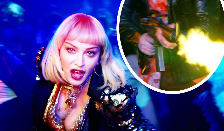 WHOA! Madonnas New Music Video Shocks With Graphic Mass