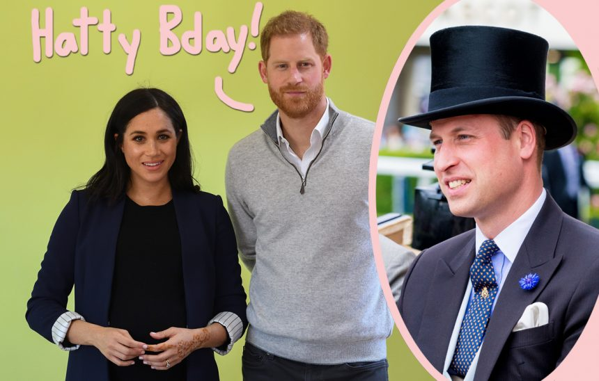 Prince Harry, Meghan Markle Share Birthday Shoutout To Prince William