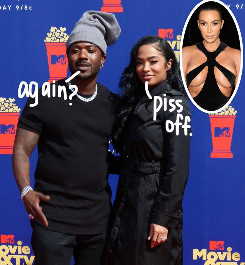 Ray J's Wife Flips Off Camera After MTV Movie & TV Awards