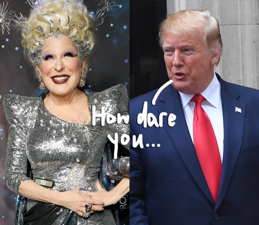 People Magazine Trump Quote 1998: Donald Trump Calls Bette Midler A 'Washed Up Psycho' Over