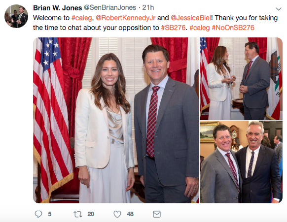 It Appears That Jessica Biel Is An Anti-Vaxxer
