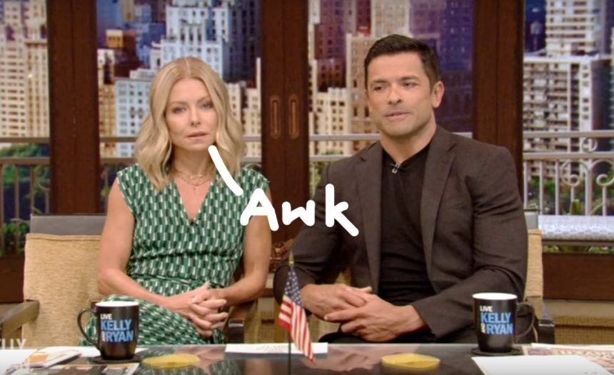 'YOU'RE DISGUSTING': Kelly Ripa's daughter walks in on her, husband having sex