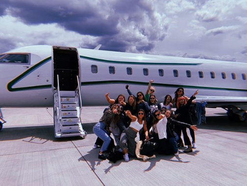 Sophie Turner Celebrates Her Bachelorette Party In Spain With Maisie Williams & Friends!