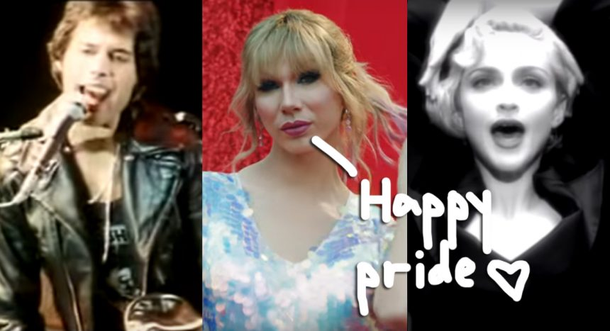 Celebrate Pride Month With Hot LGBTQ Anthems From Queen, Madonna, Taylor Swift, & More!