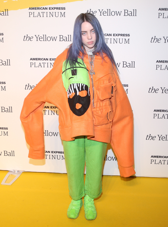 Billie Eilish fashion
