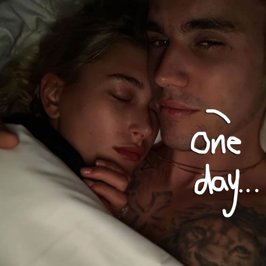 Hailey Baldwin & Justin Bieber Celebrate 1 Year Engagement Anniversary